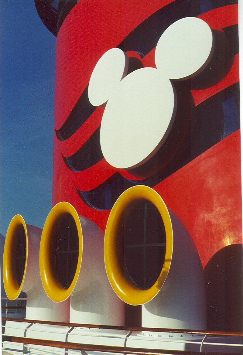 Cruise smokestack