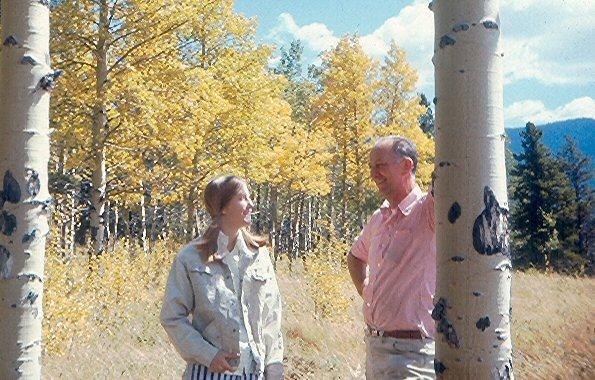 Dad and Sue '70
