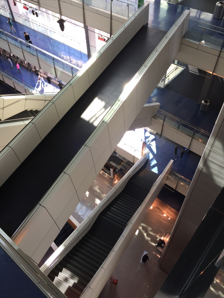 Stairs at News Museum