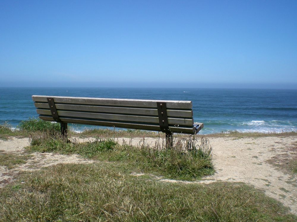 Half Moon Bay Bench