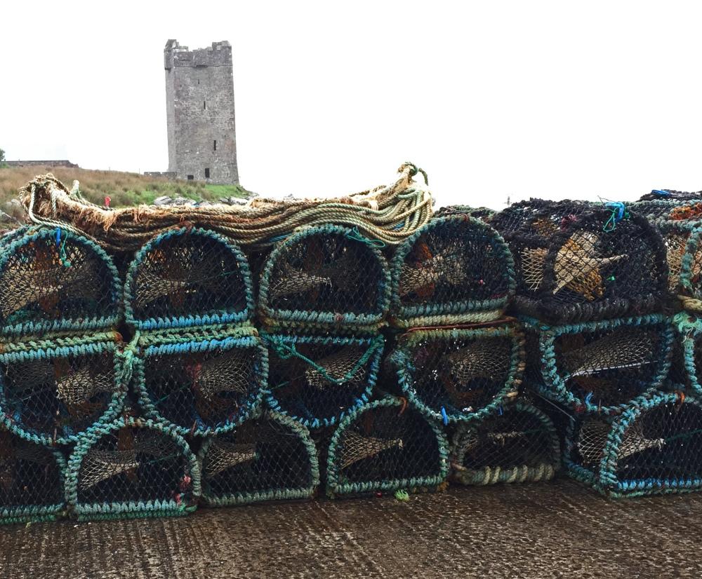 12 Achill isl lobster traps
