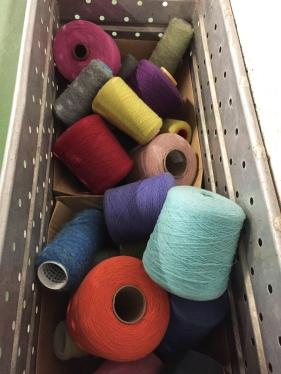 7 Foxford woolen mills yarn
