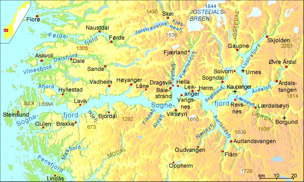 fjord map larger view