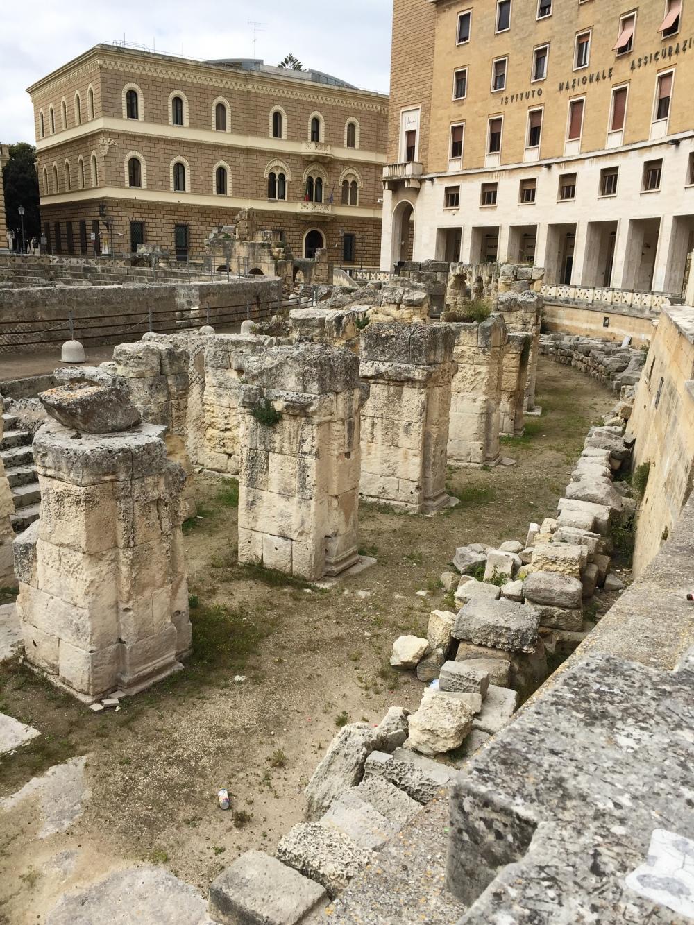 lecce amphatheater