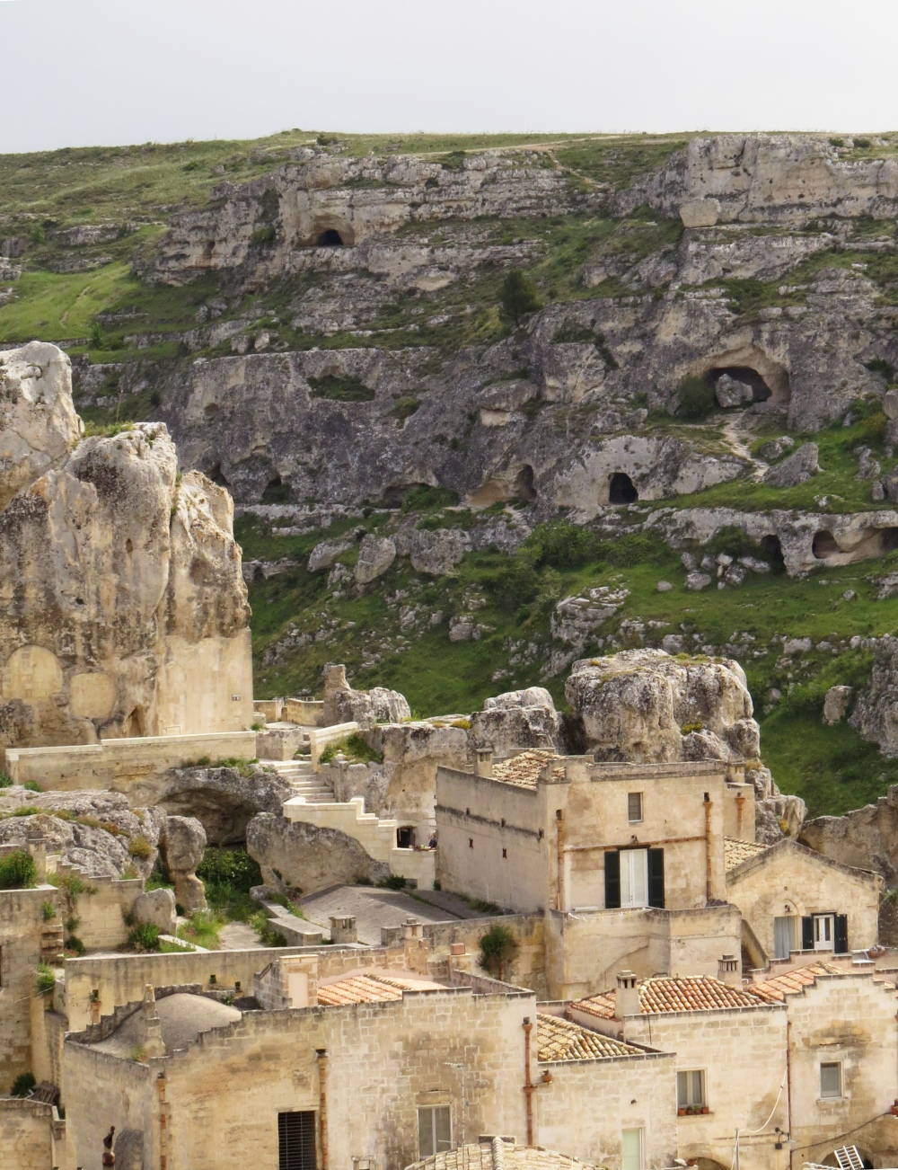 matera and sassi - caves